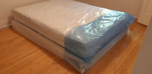 Moving sale - Queen mattress set with box spring