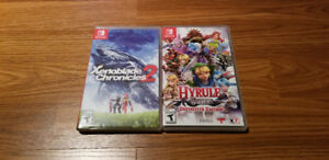 Switch titles for trade