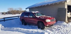 2001 jeep grand Cherokee limited motor needs love