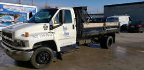 GMC C5500 Duramax Diesel with12' Del Stell box and chute