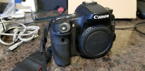 DSLR Camera for sale. Canon EOS 70D