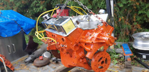 1974 L48 350ci 5.7 Small Block Chevy V8 Engine 3970010  Complete