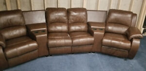Home theatre sectional sofa