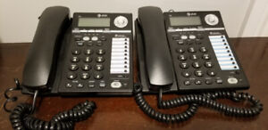 Pair of Corded Two Line Phones