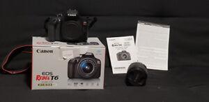 Camera Canon EOS rebel T6 EF-S 18-55 III