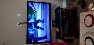 55 inch TV with stand