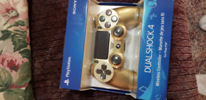 Ps4 golden controller