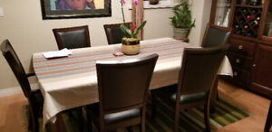 Dining Room Table with 8 Chairs REDUCED