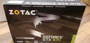 Carte graphique Zotac GTX 970 4GB