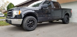 REDUCED- 2013 Ford F150 XLT SuperCrew Lifted Suspension FlexFuel