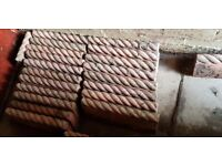 Excellent condition Antique Rope Paving Stone