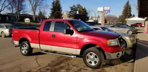 2007  Ford F150 XLT 4X4  Extended Cab