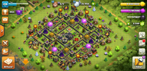 Clash of Clans 》Max Th9
