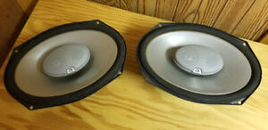 """Infinity Reference 6""""x9"""" 3-way car speakers  9633cf"""