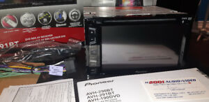 "Pioneer 291BT 6.2"" Double Din. DVD Deck Brand New in Box. $280"
