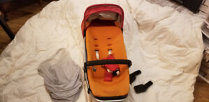 Quinny Stroller attachment plus mosquito net & car seat adapters