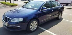 Volkswagen Passat 2.0 TDI SE Diesel 4dr Blue Excellent car FSH 2 Owners Warranty