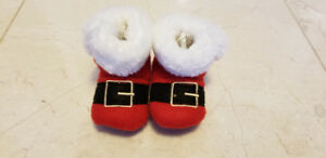 Christmas Booties size 3 - 4 Toddler
