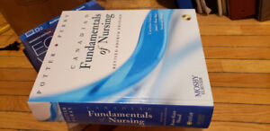 fundimentals of nursing, 4th ed, Potter & Perry [text book] $50