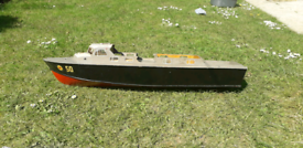 RAF Crash/Fire Tender R/C Model Boat Project for sale  North Anston, South Yorkshire