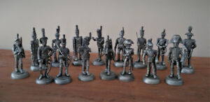 16-Piece Napoleanic Tin Soldier Collection.