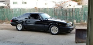 1990 Ford Mustang 5.0L LX Hatchback Supercharged