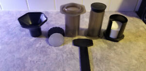 AeroPress Coffee & Espresso Maker with stainless steel filter