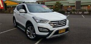 2012 Hyundai Santa Fe DM MY13 Highlander White 6 Speed Sports Automatic Wagon Mount Druitt Blacktown Area Preview