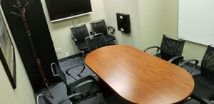 Professional Boardroom & Meeting Space - Low Hourly Rate!