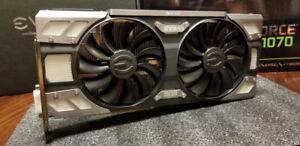 ~WARRANTY~  EVGA 1070 FTW Gaming *Mint Condition* MSRP $600+TAX