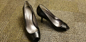 Marc Fisher Black Leather Shoes