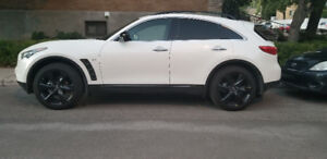 INFINITI QX70 SPORT 2017 - WITH 22 INCH MAGS - $ 599 MONTH -