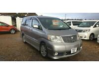 TOYOTA ALPHARD 2 BERTH CAMPERVAN WITH SIDE CONVERSION AND ROCK & ROLL BED
