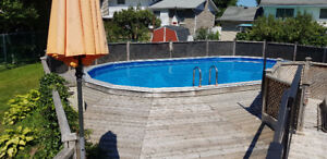 Beautiful 3 bedroom 2 full bath home with a pool!