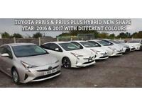 "Toyota Prius 1.8 2016(16) Hybrid New Shape Euro 6 ""FRESH PCO READY"" (BIMTA)"