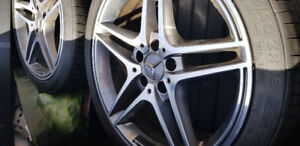 "Mercedes Benz 18"" AMG rims"