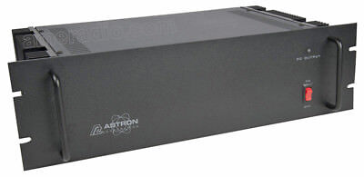 Astron Rm-35a-bb-220v 13.8 Volt 35a Rack Mount Power Supply W Battery Back-up