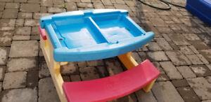Large Playskool Sand / Water / Picnic Table