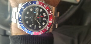 ROLEX  GMT  (PEPSI ) - REFERENCE : 126710BLRO