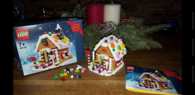Limited edition gingerbread house lego