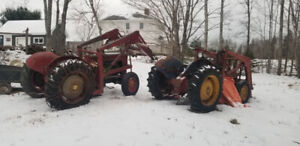 Selling two 1955 ford 820 tractors