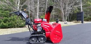 "HONDA SNOW BLOWER - Like New - 2017  28"" track drive Hydrostatic"