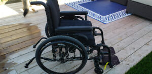 QUICKIE QXI FOLDING WHEELCHAIR (Price dropped)