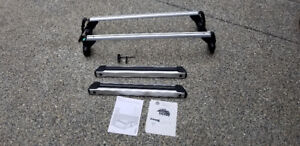 VW Beetle roof rack and ski carrier