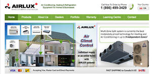 Heat Pumps and Air Conditioners, new construction or renovations