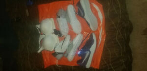Nike shoes and bra