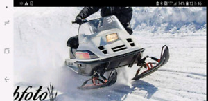 Skidoo tundra modifier 440 1991 avec papier