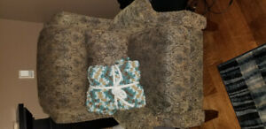 Handmade blankets and throws