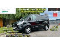 2016 Ford Transit Custom 2.2 TDCi 125ps Low Roof Limited Van PANEL VAN Diesel Ma