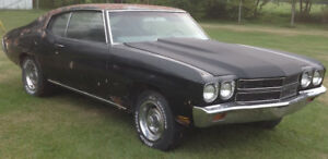 1970 Chevelle 300 Deluxe factory big block 4-speed